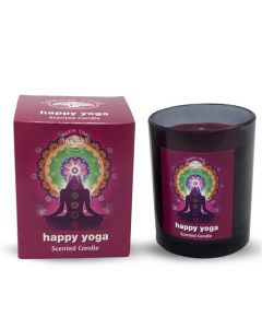 Green Tree Happy Yoga Scented Candle 210 Grams