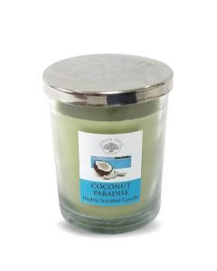 Green Tree Coconut Paradise Candle 200 Grams