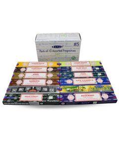 Satya Assorted Pack 6 Incense (12 boxes) 15 grams