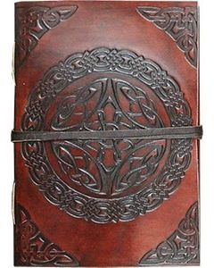 """LEATHER JOURNAL - CELTIC ( 3 x 4"""" ) //"""