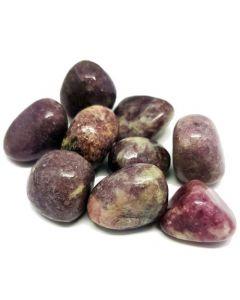 Lepidolite tumbled stones 250gr