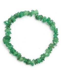 Bracelet Chips stones Green Aventurine