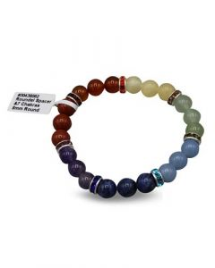 Bracelet 7 Chakra with Spacer