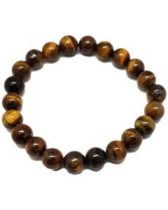 Bracelet Tiger Eye beads (8mm)