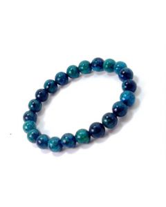 Bracelet Chrysocolla (8mm)