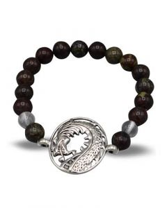 Bracelet Dragon bloodstone (8mm)