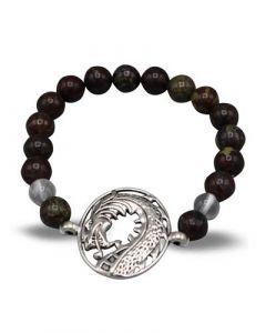Bracelet Dragon bloodstone (8mm)