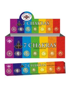 Green Tree 7 Chakra Natural Incense 15 grams