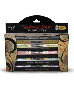 Flower Fusion Gift Pack (80 incense stks)