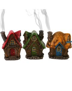 [3] Fairy house incense burner