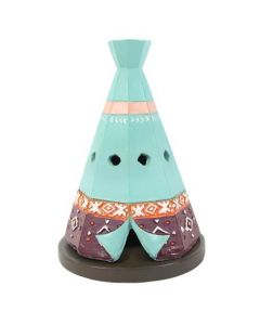 Boho Teepee Incense Cone Burner