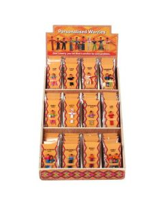S/72 Personalised Worry Doll Display