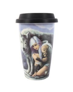 Anne Stokes Protector Travel Mug.