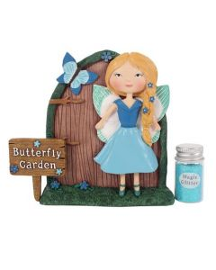 Amelia and Bluebell Fairy Door Gift Set.