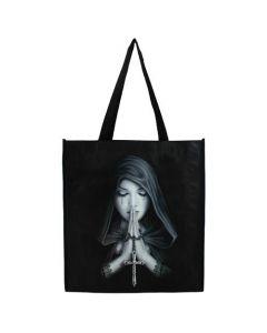 Gothic Prayer Shopping Bag