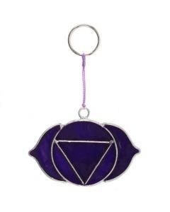 Third Eye Chakra Mini Symbol Suncatcher