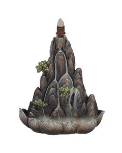 Bronzen Berg Backflow Wierookhouder
