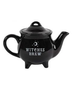 Tetera de cerámica negra Witches Brew