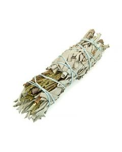 Witte Salie & Ceder Smudge Stick 10cm