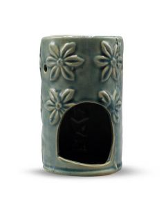 Green Tree Oil Burner Turquoise