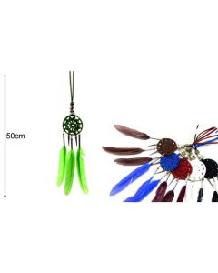 Dreamcatcher Necklaces 6 Colors 50cm (12 pieces)