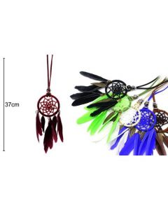 Dreamcatcher Necklaces 6 Colors 37cm (12 pieces)