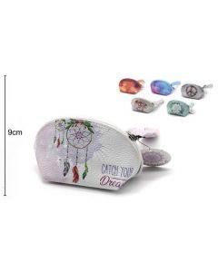 Wallet Oval Catch Your Dream 15x9x8cm (2 pieces)