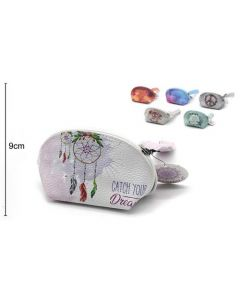 Wallet Oval Catch Your Dream 15x9x8cm