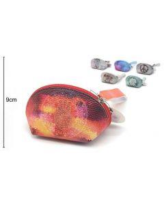 Wallet Oval Hand of Fatima 15x9x8cm