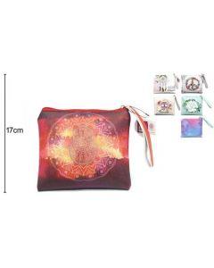 Wallet Hand of Fatima Red 20x17cm