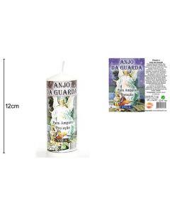 Vela Religiosa Angel Guardian 12X4,5cm