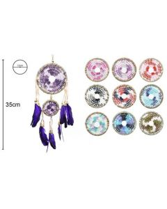 Dreamcatcher 12x35cm (4 pieces)