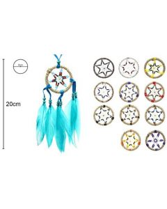 Dreamcatcher Stars 6x20cm (12 pieces)