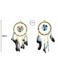Dreamcatcher 12x26cm (4 pieces)