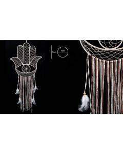 Dreamcatcher Hand of Fatima 40x75cm