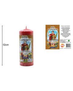 Vela Religiosa San Expedito 12X4,5cm