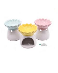 Quemador de Aroma 9 cm Colores Variados