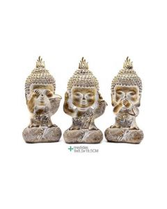 Buddhas Blind doofstomme 9x8,5x19,5 (2 sets)
