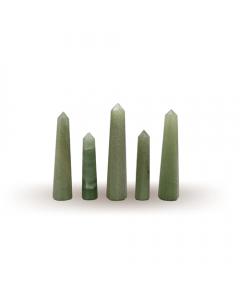 Green Aventurine Pencil 6-10cm Set of 5 pieces