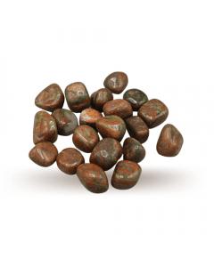 Unacite tumbled stones AA Quality 250gr