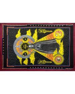 Tapestry Holy Death Santa Muerte 140 x 210 cms