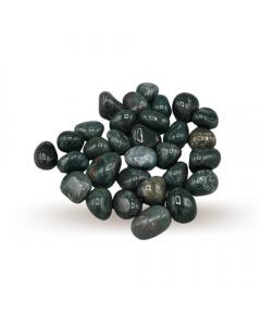 Bloedsteen getrommelde stenen AA kwaliteit 250gr