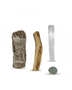 Energy Cleansing Smudge Kits w/ Amazonite