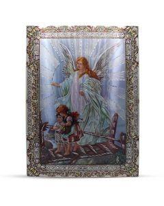 Aluminium Plate Guardian Angel 30 X 42
