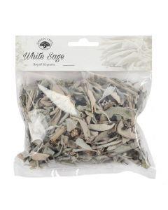 Green Tree White Sage Leaves 50 grams