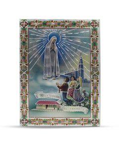 Aluminium Plate Our Lady Of Fatima 21 X 30