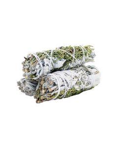 White Sage & Juniper Smudge Stick 10cm (price per pc)