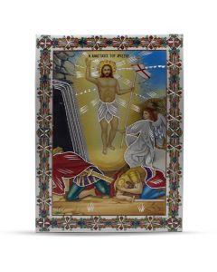 Aluminium Plate Ascension of Jesus 21 X 30