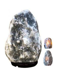 Himalayan Salt Lamp 4-6 kg Black