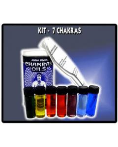Anna Rivas Chakras oils
